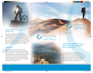 Brochure Layout Tips