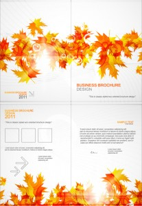 Designing a Great Seasonal Fall Brochure